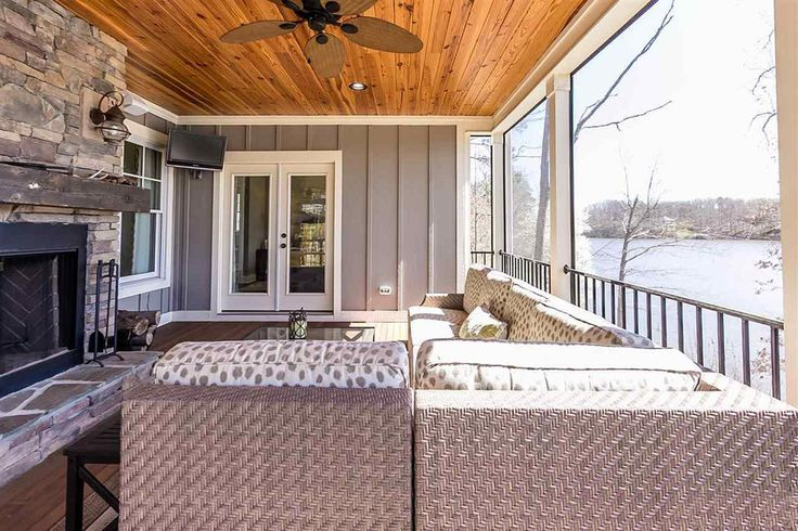 Mountain Home Vaulted Ceilings Cottage Style House Plans Porch
