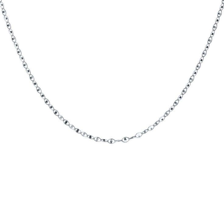 Ethno Bones Silver Necklace