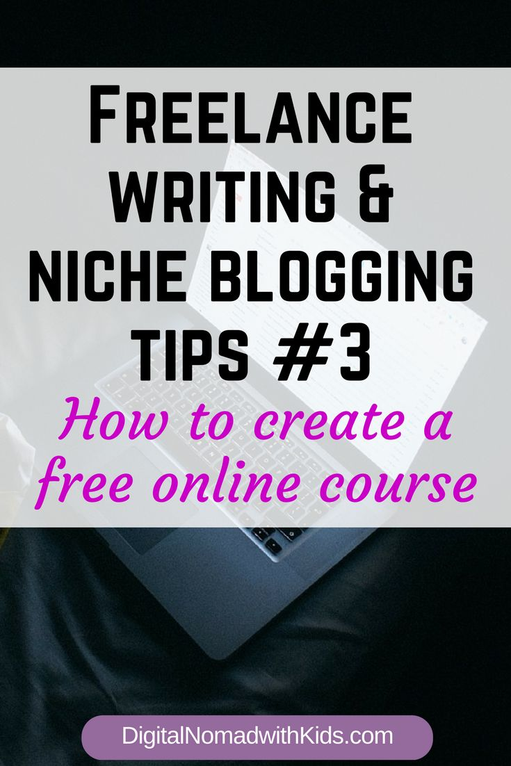 Tips for creating a free online course | email marketing | list building