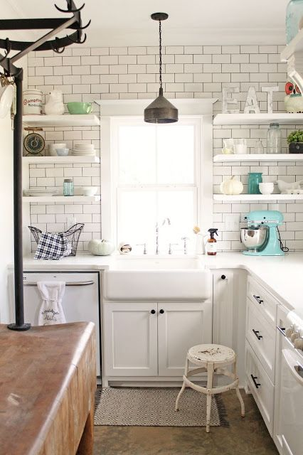 This Kitchen Seriously Incredible The White Subway