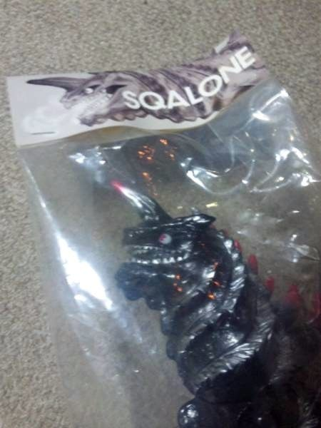 New T9G SQALONE And A Ver. Color Rare Limited Sofubi F/S #T9GSQALONE