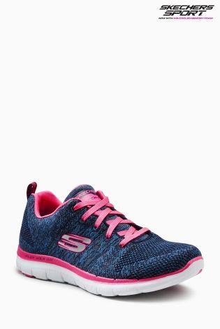 Buy Skechers® Navy/Pink Flex Appeal 2.0 from the Next UK online shop