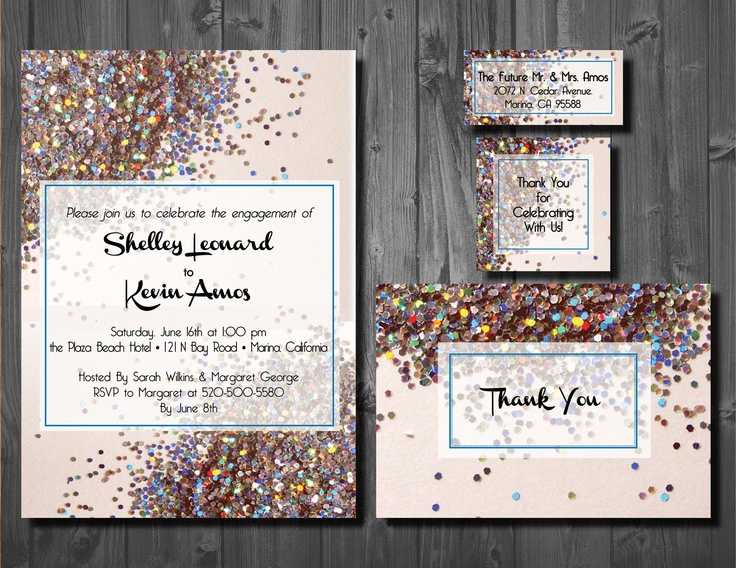 69 best images about Wedding invitations – Vintage Engagement Party Invitations
