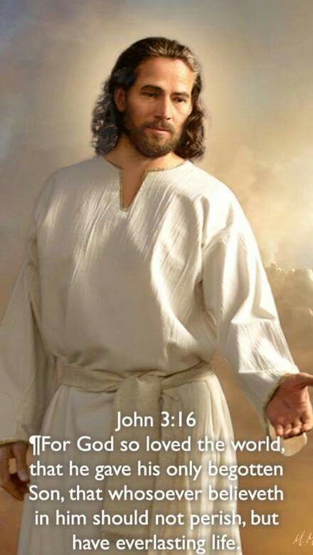 He gave his life for us