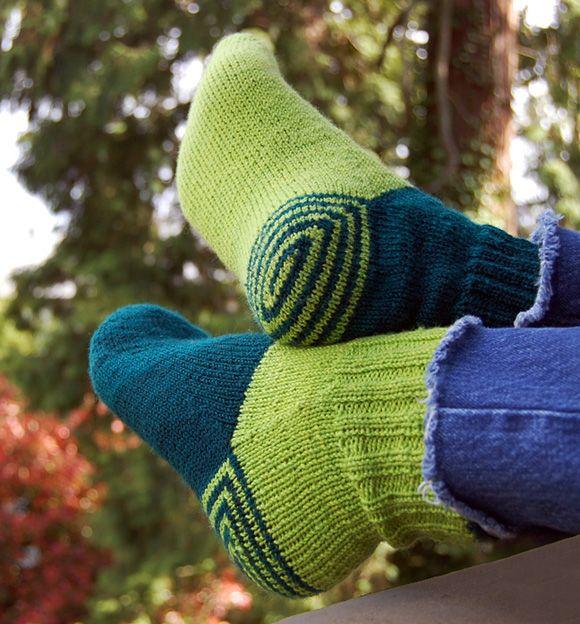 Double Heelix sock: Knitty Spring+Summer 2011