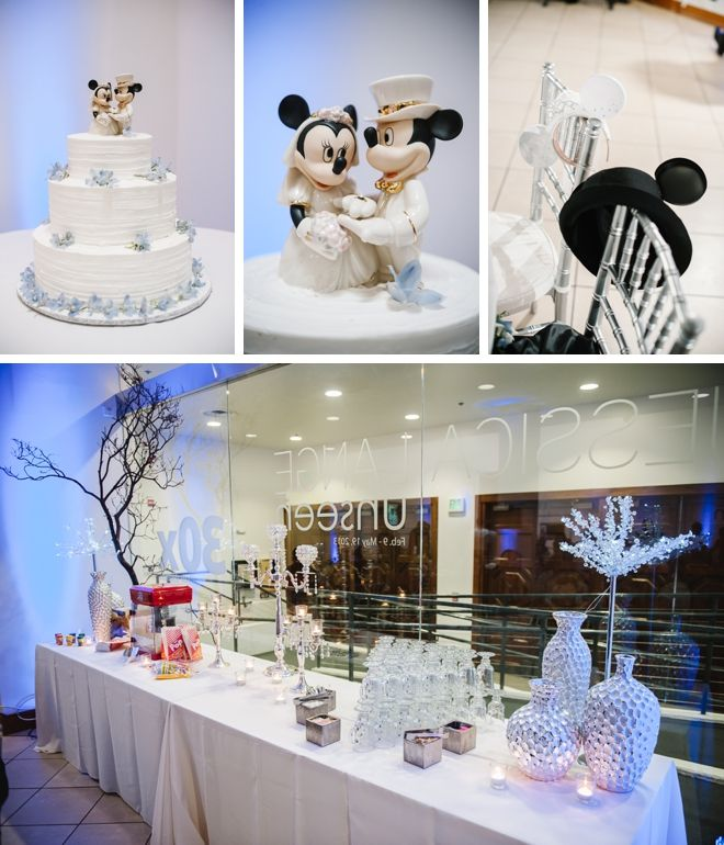 Disney Themed Wedding By Luminaire Images