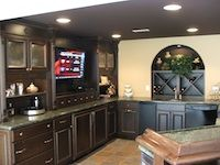 Good Custom Wine Storage Built Into Wall. Basement Ideas | Finished Basements  Plus Awesome Design