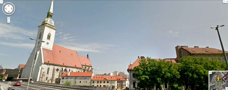 Google Street View - St. Martin Cathedral, Bratislava