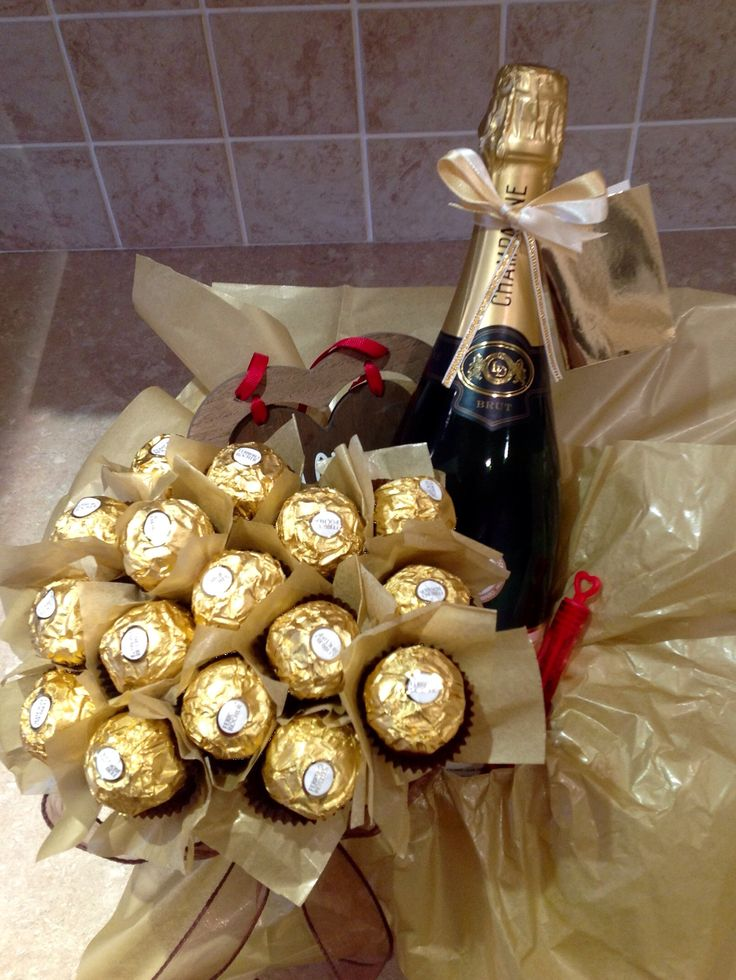 Champagne And Chocolate Hamper X My Homemade Gifts