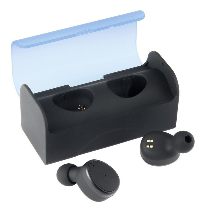 True Wireless Earbuds, Kobwa Stereo Bluetooth Earphone Mini In-ear Bluetooth Earpiece Car Headset, True V4.1 Earpiece with Built-in Charging Case for iphone Samsung Smartphones, Black. TRULY WIRELESS STEREO PAIRING VIA BLUETOOTH: Pairing 2 cordless earbuds wirelessly and four ear caps, making it the smallest stereo bluetooth headset on the market.Bluetooth with advanced audio decode technology enables wireless connections to your smartphones and other bluetooth devices,the bluetooth car...