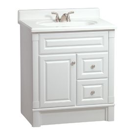 Estate By Rsi 30 Quot White Southport Bath Vanity Bathroom Vanities Without Tops Bathroom Vanity