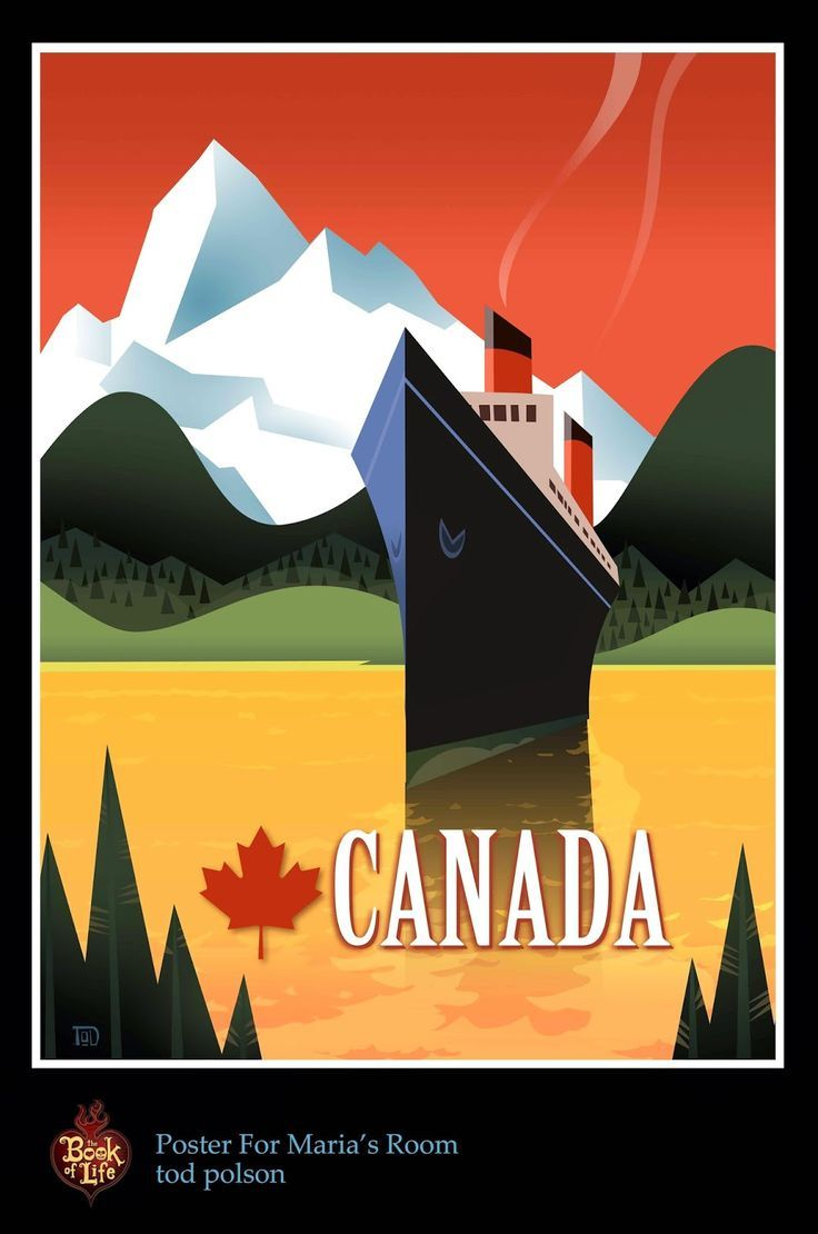 Tod Polson: The Book of Life: Travel Posters
