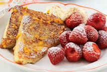 French toast with strawberries - Recipes - Slimming World
