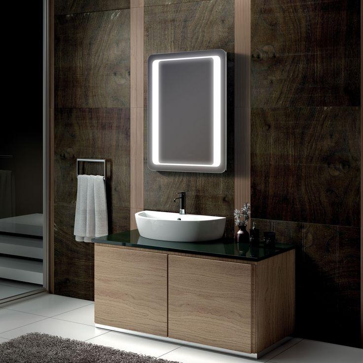 VIOLET 500 X 700mm Illuminated Mirror With Sensor Demister Shaver Socket
