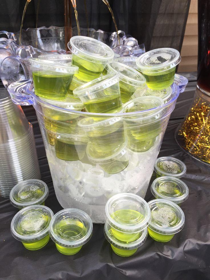 Hennessy & Apple Jell-O shots