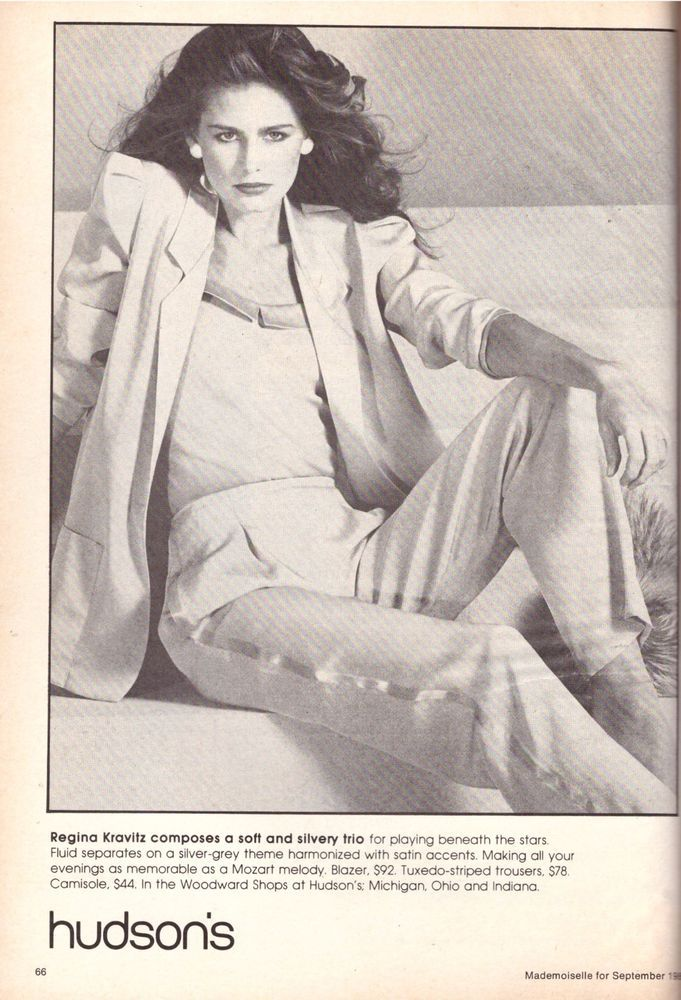1980 Hudson s Department Store Juli Foster Print Advertisement Ad Vintage 80s | eBay