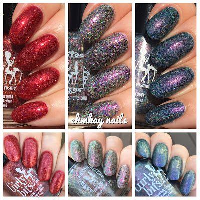 ehmkay nails: Girly Bits Polish Con NYC LEs and Exclusive