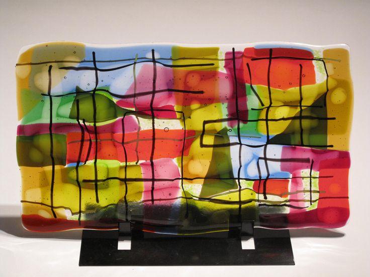 CORINNE PEARSON pressed glass