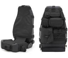 SmittyBilt GEAR Seat Cover-Front-Black Fits Jeep 76-13 CJ/Wrangler (YJ/TJ/LJ/JK