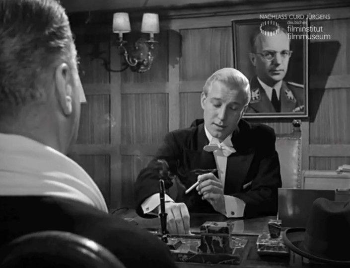 """SCHACHNOVELLE (1960) Filmausschnitt """"Geistige Nahrung"""""""
