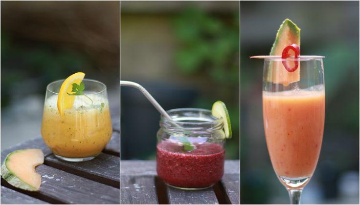 De blender is nog maar net schoon of ik heb mijn 3 favoriete cocktails zonder alcohol alweer voor je klaarstaan:  Mocktail lovers - here we go! 🍸🍹