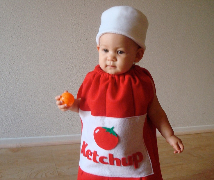 Baby Costume Toddler Costume Halloween Costume Ketchup Costume Ketchup Bottle. $60.00, via Etsy.