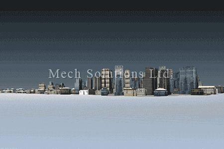 Solidworks Composer city view-Service in Toronto, GTA, Canada