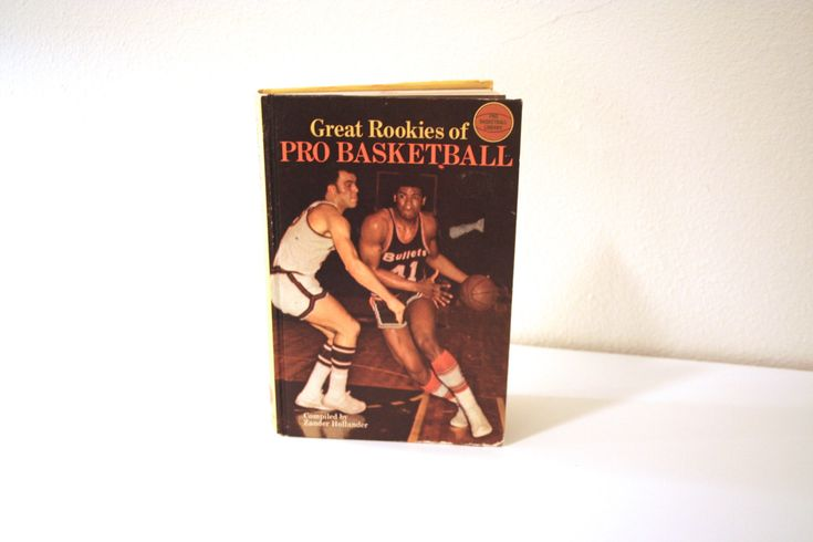 1969 'Great Rookies of Pro Basketball' by Zander Hollander, #3 in the Pro Basketball Library, Illustrated, Father's Day Gift, Gift for Him by PacificBlueBooks on Etsy