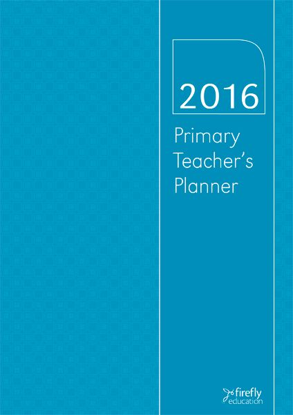 A 2016 planner suitable for primary school teachers. Read More →