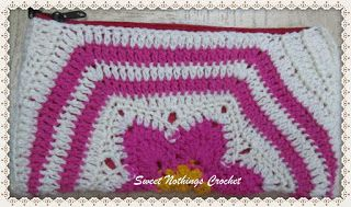 Sweet Nothings Crochet: HEXAGONALLY YOURS – A JAZZED UP TOILETERIES BAG 2