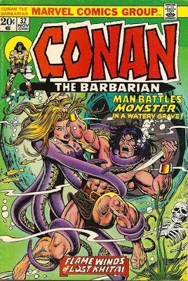 Conan the Barbarian #32.
