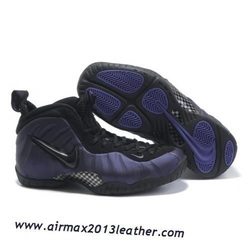 Nike Air Foamposite Pro Purple Varsity Black
