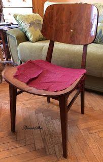 "Handmade from NataliSha: ""Убитый"" стул. Этапы реставрации."