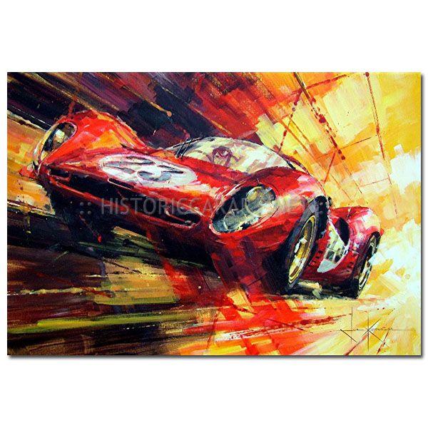 Red Hot Favourite (Ferrari) by John Ketchell