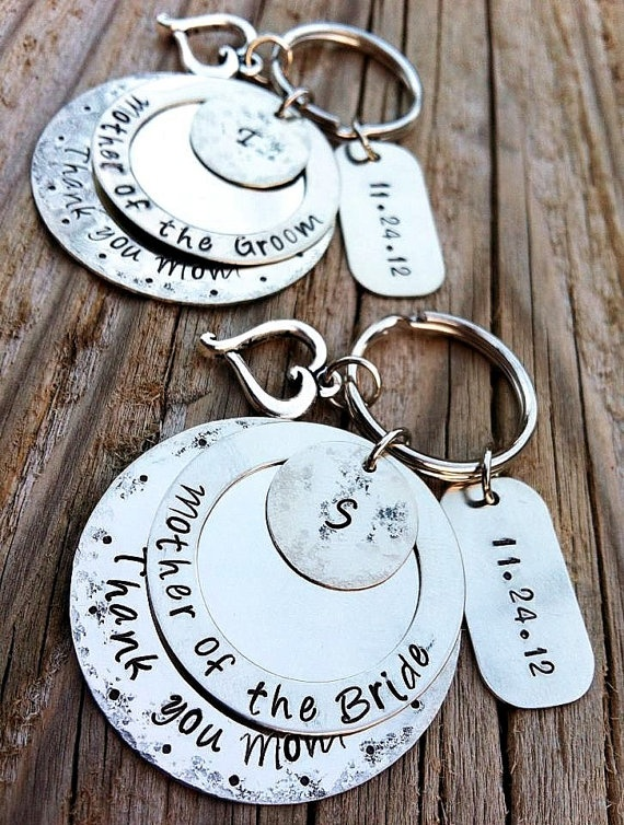 Wedding gift ideas unique personalized keychains