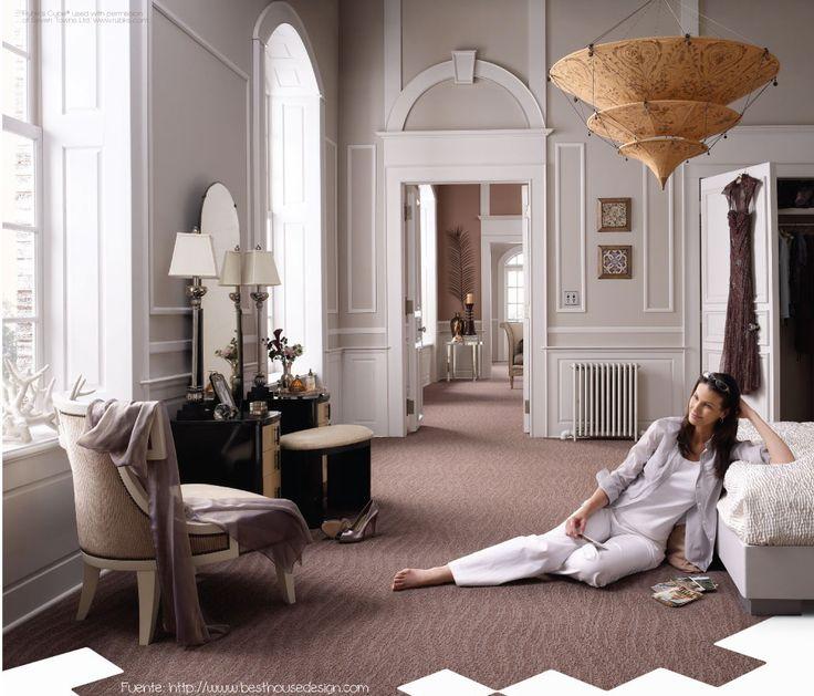 Las alfombras tienen amantes y detractores. Son ideales en lugares de climas fríos. Existen varios tipos de alfombra para cada necesidad. Asesorate con un especialista antes de comprar una.
