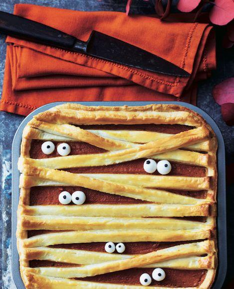 Asda Good Living Mummy pumpkin pie Asda Halloween Food - asda halloween decorations