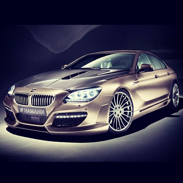 BMW 6 Series Gran Coupe by Hamann