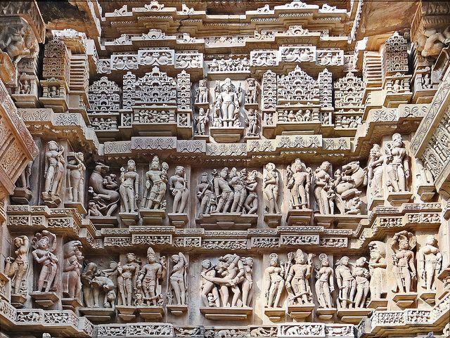 Ancient Erotic Temples of Khajuraho