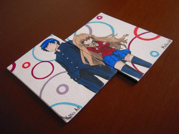 Toradora Canvas by Matita's Art