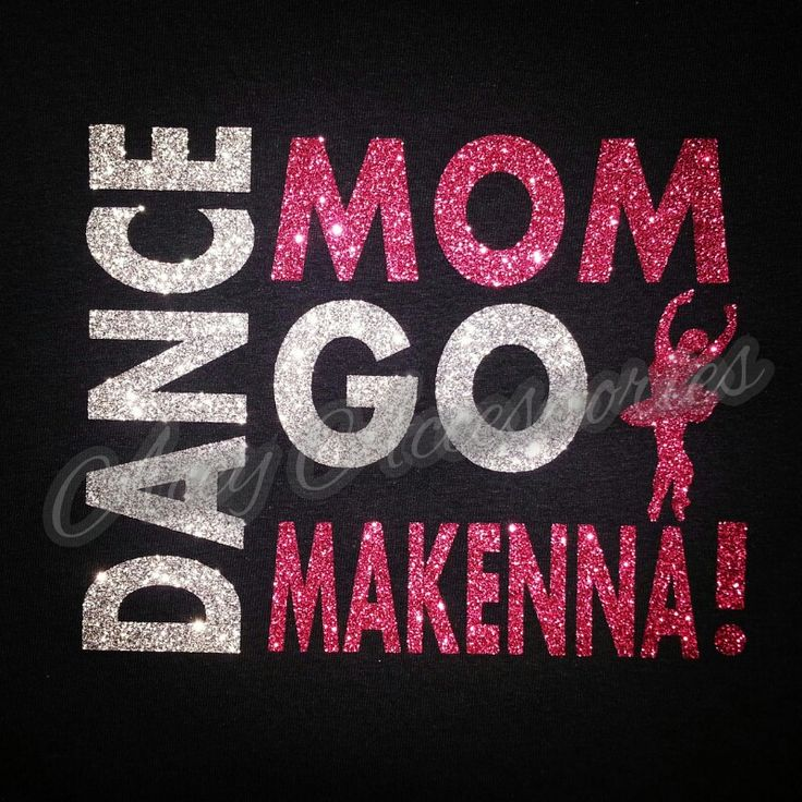 Dance Mom Glitter Shirt