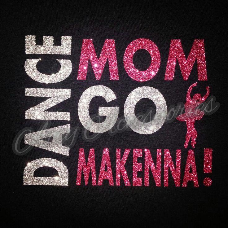 Dance Mom Glitter Shirt