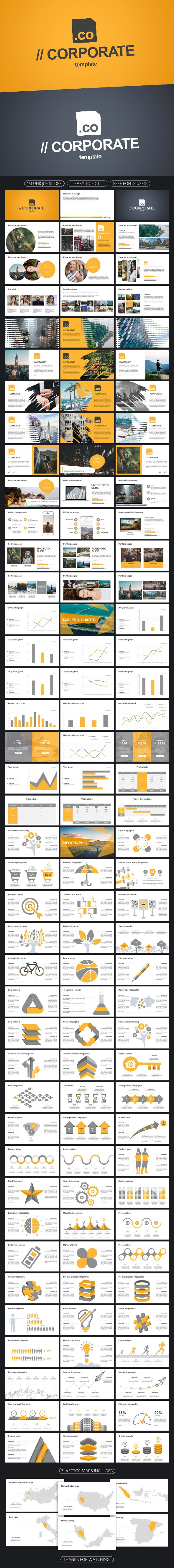 Corporate #Powerpoint Template - Business PowerPoint Templates