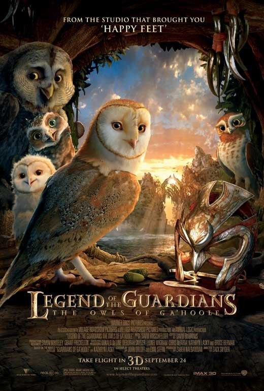 Legend of the Guardians: The Owls of Ga'Hoole 27x40 Movie Poster (2010)