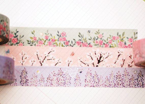 Designers personal special order washi paper masking by forlapin