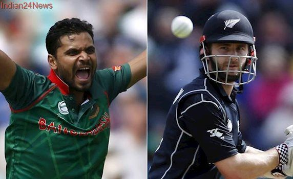 Bangladesh vs New Zealand, live cricket score, ICC Champions Trophy 2017: Bangladesh and New Zealand look to win to stay alive