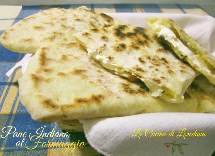 Pane Indiano al Formaggio | La Cucina di LoredanaLa Cucina di Loredana