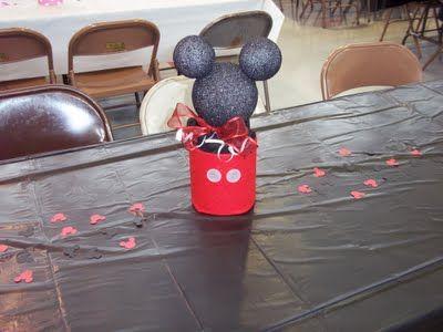 Jessica, The Mom: Mickey & Minnie Birthday Party