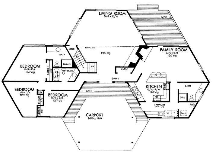 hexagon house grand designs - Google Search | house ...