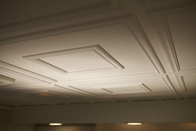 Remodel Basement Basement Ideas Renovate Basement Basement Redo Basementupdates Faux Tin Ceiling Tin Ceiling Tiles Tin Ceiling